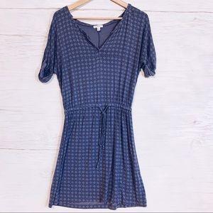 5/15$ Caslon Blue Casual Dress